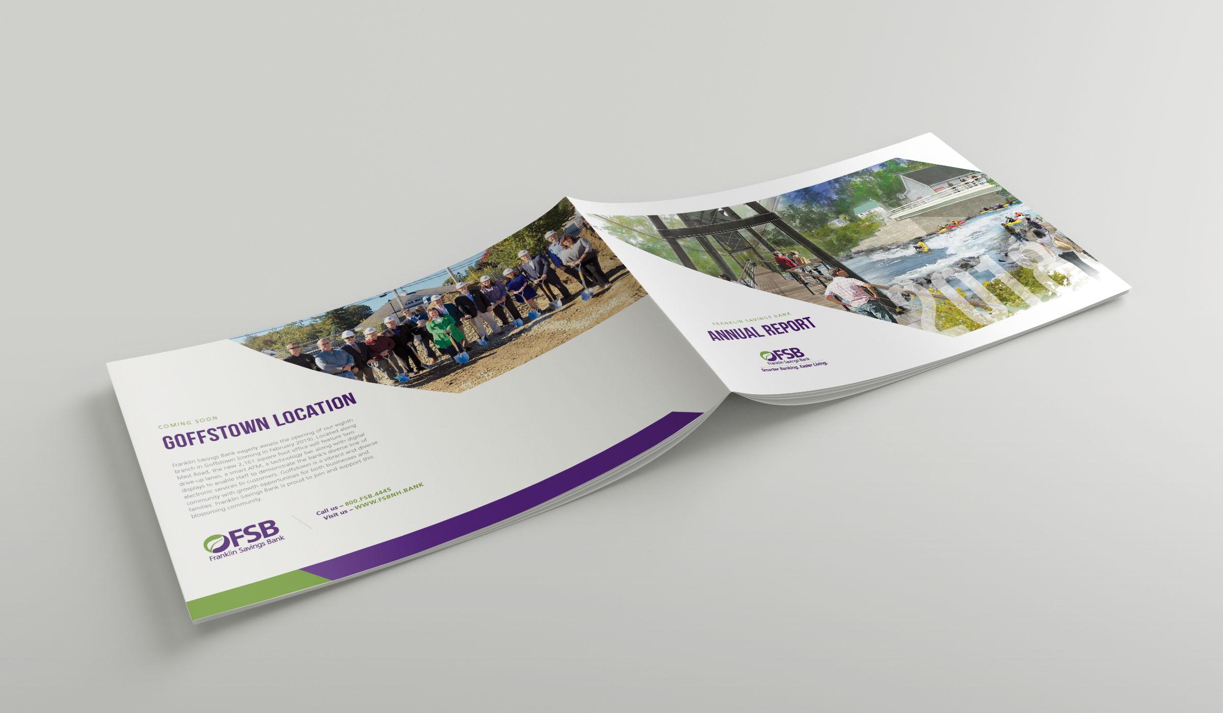 Annual Report Design - Graphic Design
