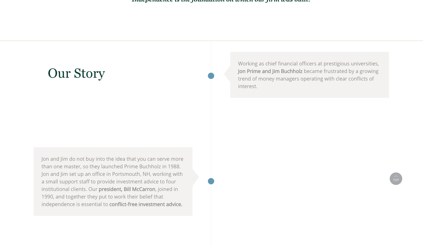 Prime Buchholz Website Redesign