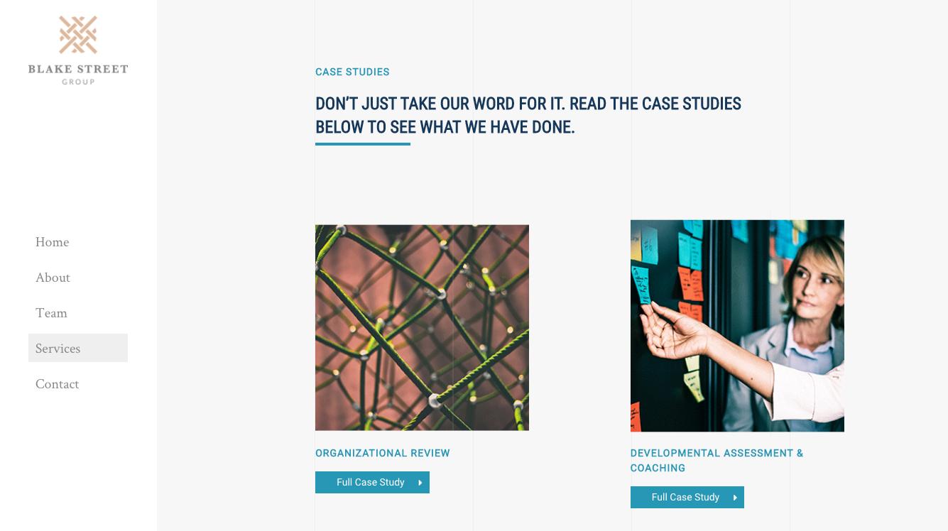 Website Design_Blake Street Group